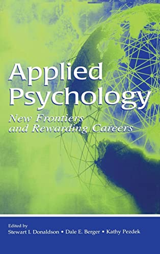 9780805853483 Applied Psychology New Frontiers and Rewarding - rewarding careers