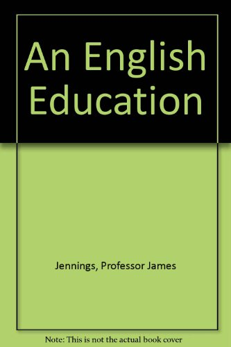 An English Education by Anonymous Dedeaux, PN Blue Moon Books