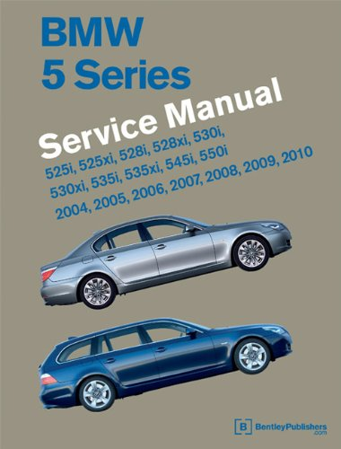 9780837616216 BMW 5 Series (E60, E61) Service Manual 2004, 2005