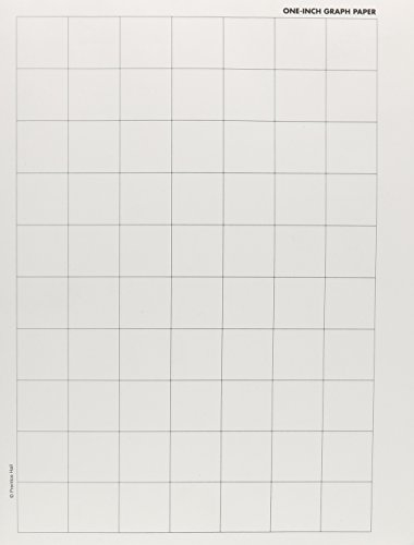 9780866518703 INVESTIGATIONS PADS OF ONE INCH GRAPH PAPER (100