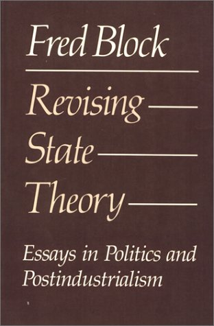 9780877224655 Revising state theory Essays in politics and