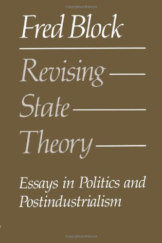 9780877225249 Revising State Theory Essays in Politics and