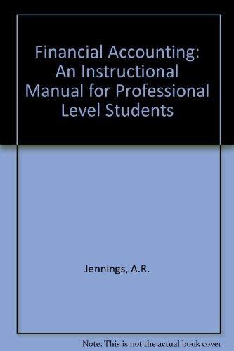 9780905435435 Financial Accounting v 2 An Instructional Manual
