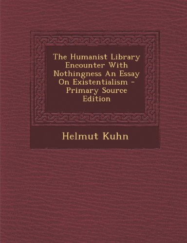 9781287793540 The Humanist Library Encounter With Nothingness An