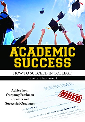 klemaszewski james - academic success succeed college - AbeBooks