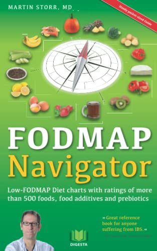 9781514647011 The FODMAP Navigator Low-FODMAP Diet charts with