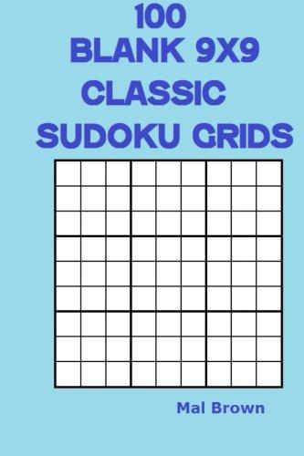 9781523985906 100 Blank 9x9 Classic Sudoku Grids - AbeBooks - Mal