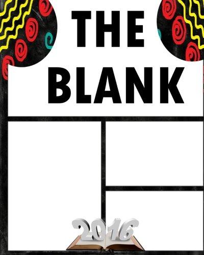 9781530956135 The Blank Comic Book Template Comic Book Template 8