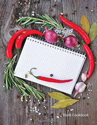9781532870507 Blank Cookbook Notepad 99 (Recipe Journals, Blank - recipe journals