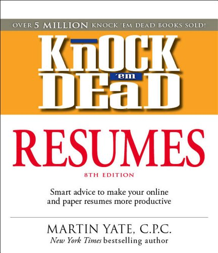 9781598696745 Knock \u0027em Dead Resumes Features the Latest - Knock Em Dead Resumes