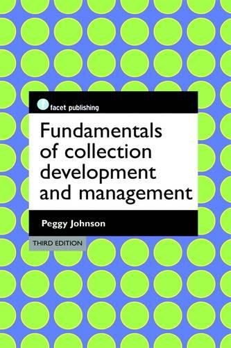 9781856049375 Fundamentals of Collection Development and Management