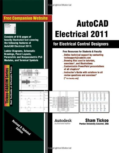 9781932709810 AutoCAD Electrical 2011 for Electrical Control