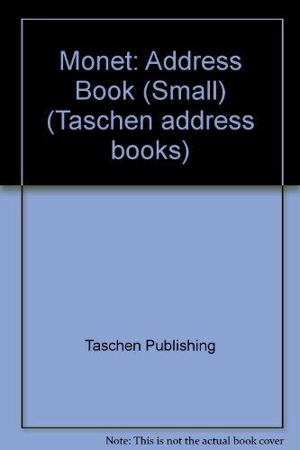 9783822889268 Monet Address Book (Small) (Taschen address books