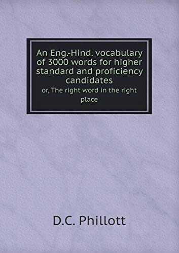 9785518680265 An Eng-Hind vocabulary of 3000 words for higher