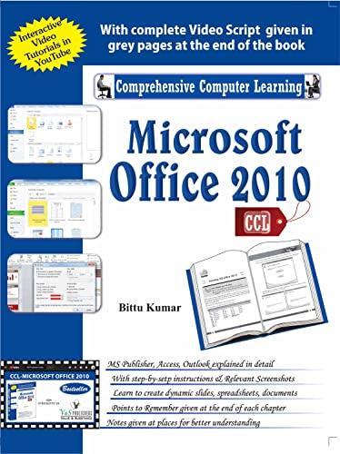 9789350570159 Microsoft Office 2010 - AbeBooks - Bittu Kumar