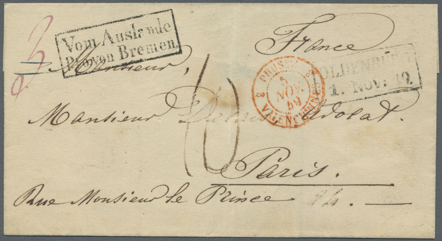 Gärtner Bremen Stamp Auction Bremen Stempel Auction 40 Germany Picture