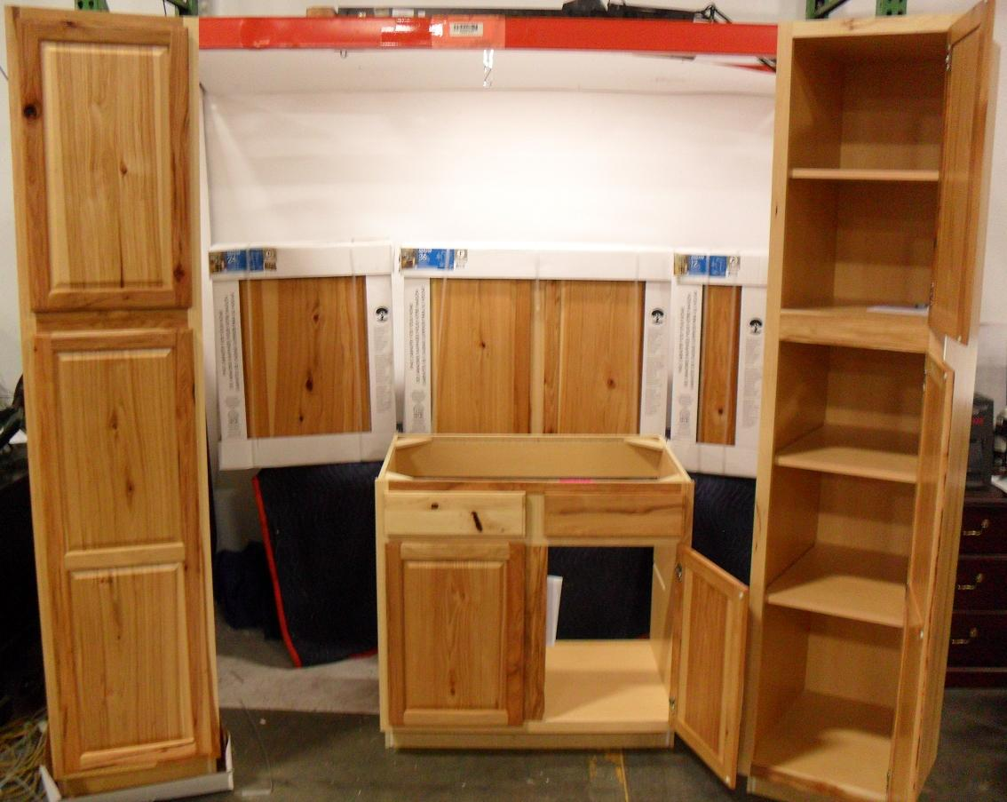 Denver Hickory Kitchen Cabinets Kitchen Classics Denver Collection 6 Pc Cabinet Set Ebay