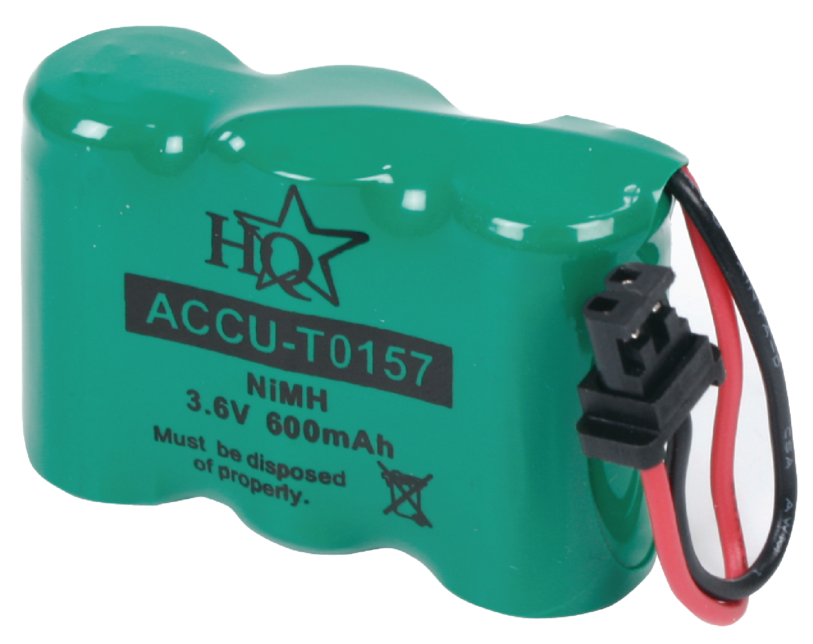 Accu Batterien Accu T0157 Hq Rechargeable Nimh Battery Pack 3 6 V 600
