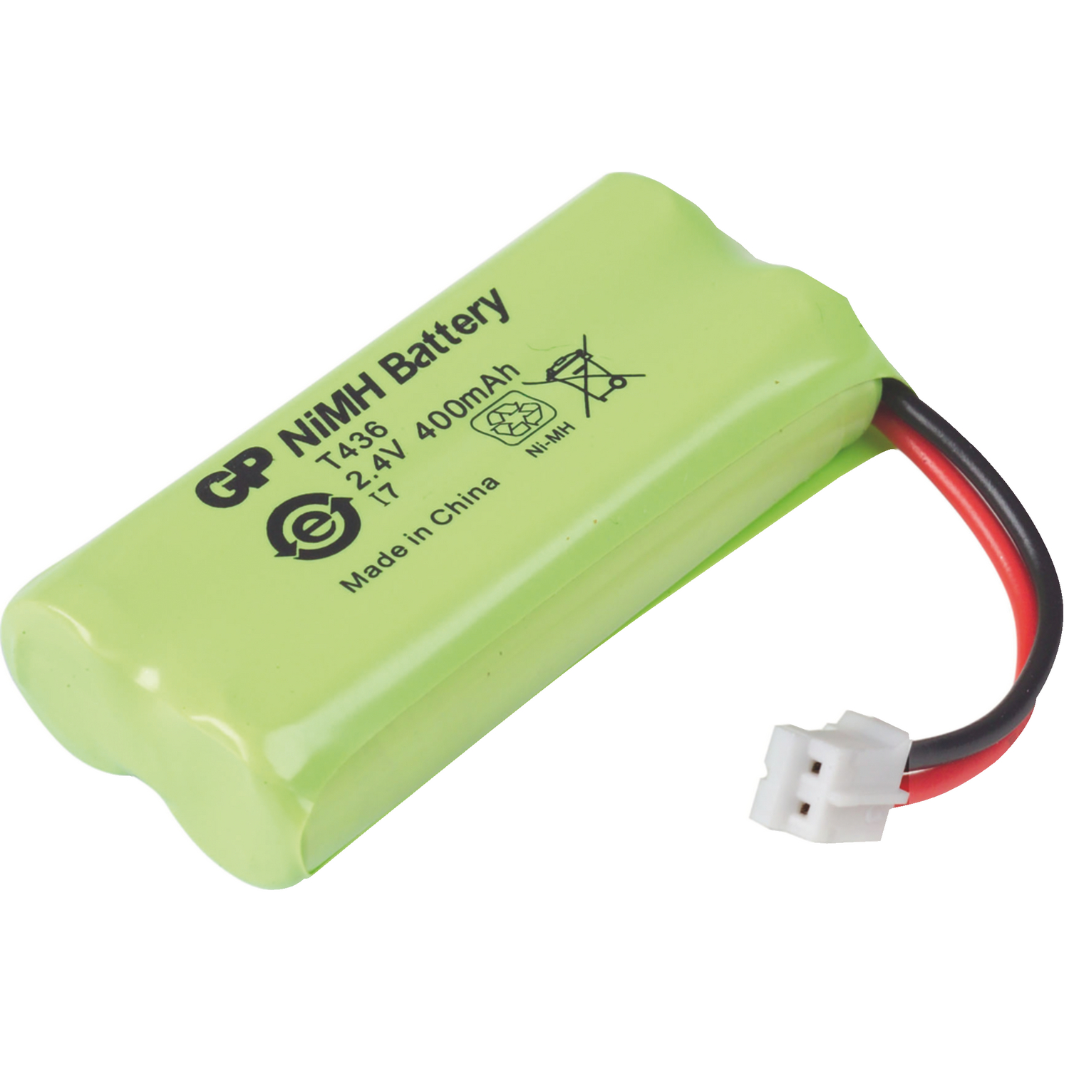 Accu Batterien Accu T436 Gp Rechargeable Nimh Battery Pack 2 4 V 400