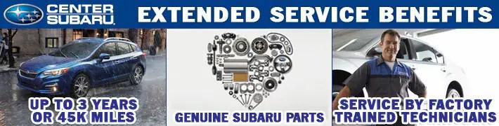 Subaru Extended Service Plans Center Subaru