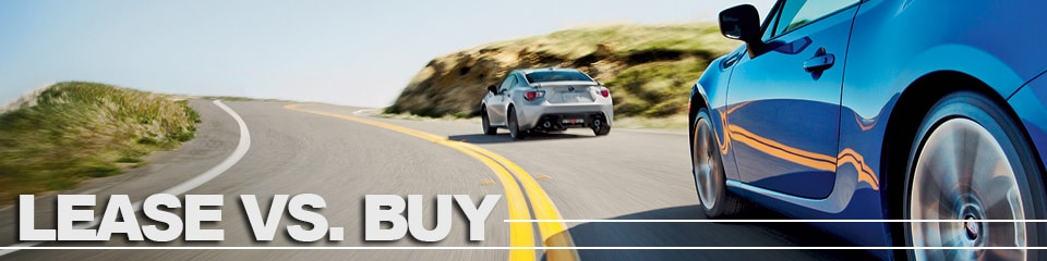 Compare Leasing  Buying a New Subaru Vehicle at Garcia Subaru in
