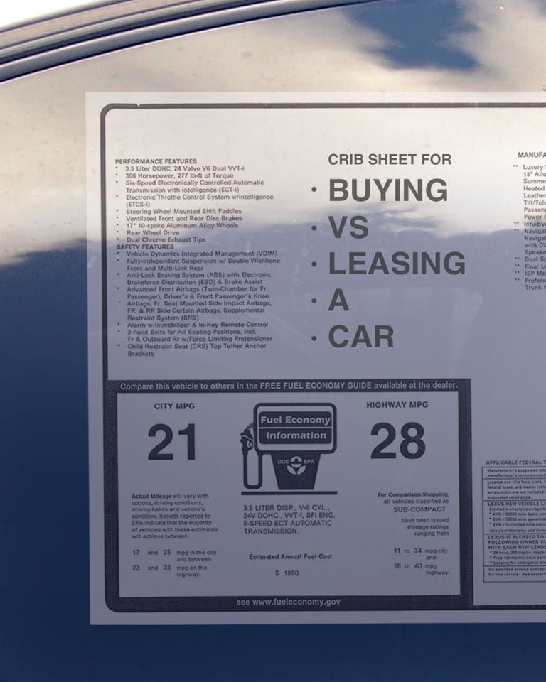 Auto Lease vs Buying a Car Jeff Wyler Eastgate Auto Mall Batavia, OH