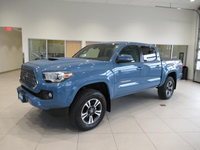 New 2019 Toyota Tacoma Truck Double Cab TRD Sport V6 Cavalry Blue