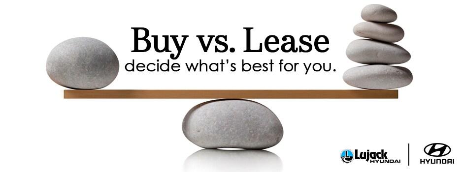 Buying vs Leasing Lujack Hyundai, Davenport IA