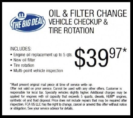 Oil Change in Temple TX - Specials, Coupons, and Deals