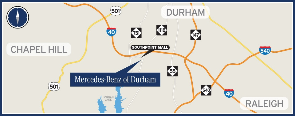 About Mercedes-Benz of Durham New Mercedes-Benz and Used Car Dealer