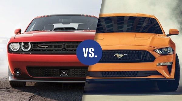 Comparison 2018 Dodge Challenger vs 2018 Ford Mustang McGovern