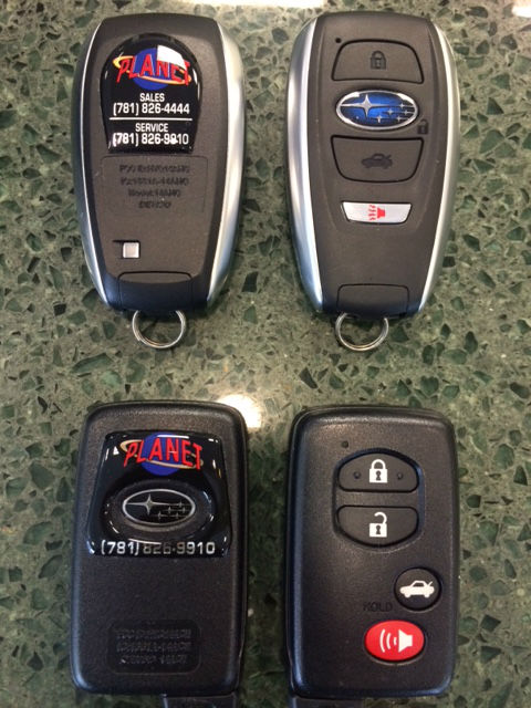 Keyless Access and Push Button Start Planet Subaru Hanover