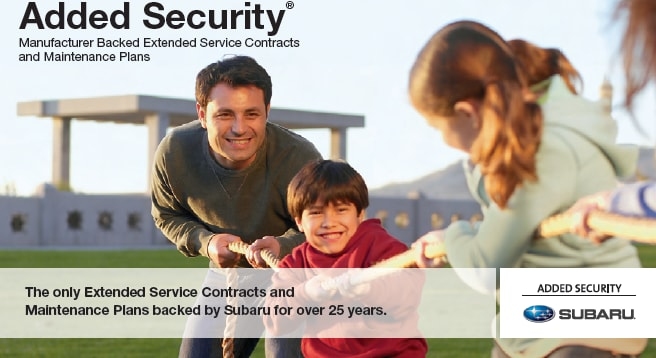 Subaru Added Security- Extended Service Contract Quantrell Subaru