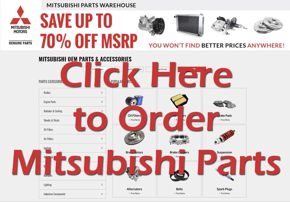 Mitsubishi 3000GT Parts Wholesale Dealer Genuine OEM Auto Parts