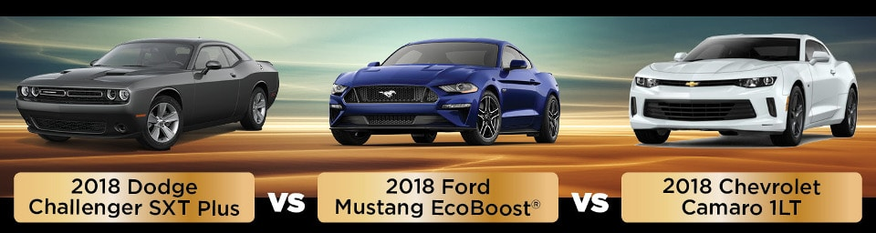 2018 Dodge Challenger vs Ford Mustang vs Chevy Camaro Simi