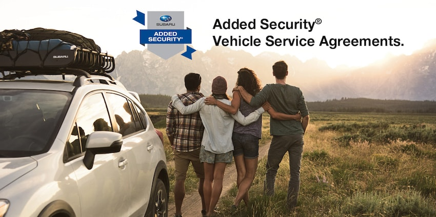 Added Security Extended Service Contracts Wagner Subaru