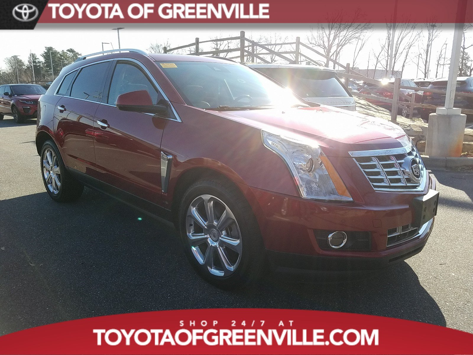 Led Shop24 Used 2015 Cadillac Srx Performance Collection For Sale Greenville Sc Stock Fs526944