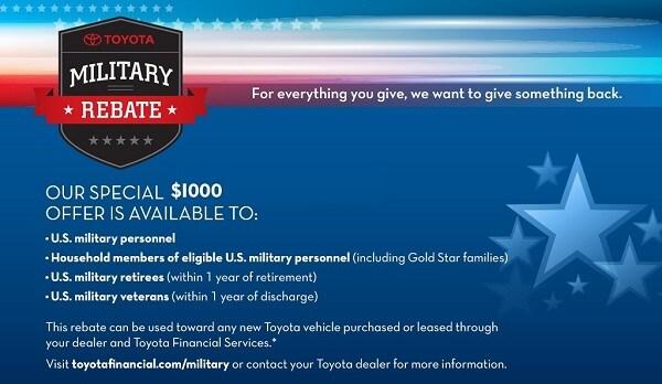 Military Program Toyota Sales near Honesdale, PA