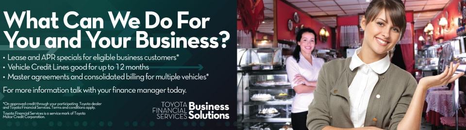 Toyota Vehicle Solutions for Your Business Needs 802 Toyota