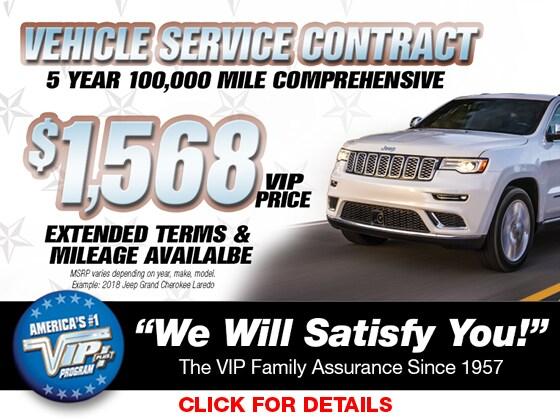 VIP Vehicle Service Contract Long Island, NY