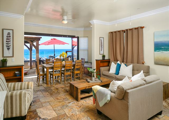 Oceanside, CA United States - Luxury Oceanfront Rental with Spa