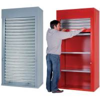 Heavy Duty Roller Shutter Cabinets 2m h x 1m w x 500mm d ...