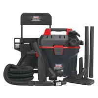 Sealey Wall Mounted Garage Vacuum Cleaner | ESE Direct
