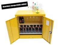 Hazardous storage drinks cabinet
