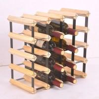 20 Bottle Timber Wine Rack - Complete Wooden Wine Storage ...