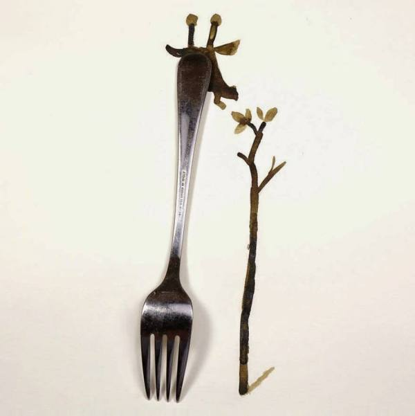 Creativity with a fork
