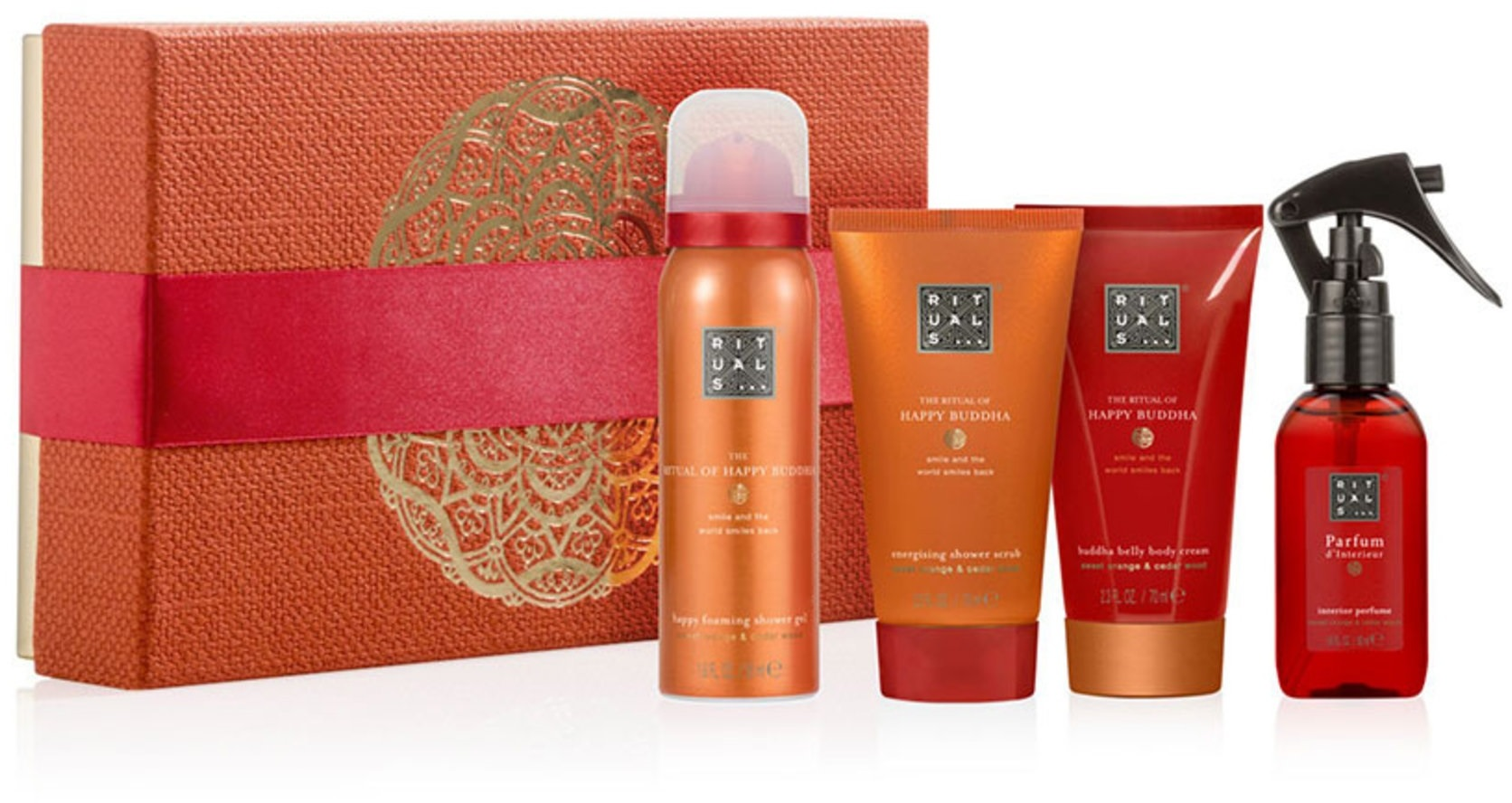 Parfum D'intérieur Rituals Rituals The Ritual Of Happy Buddha Energising Treat Small Gift Set