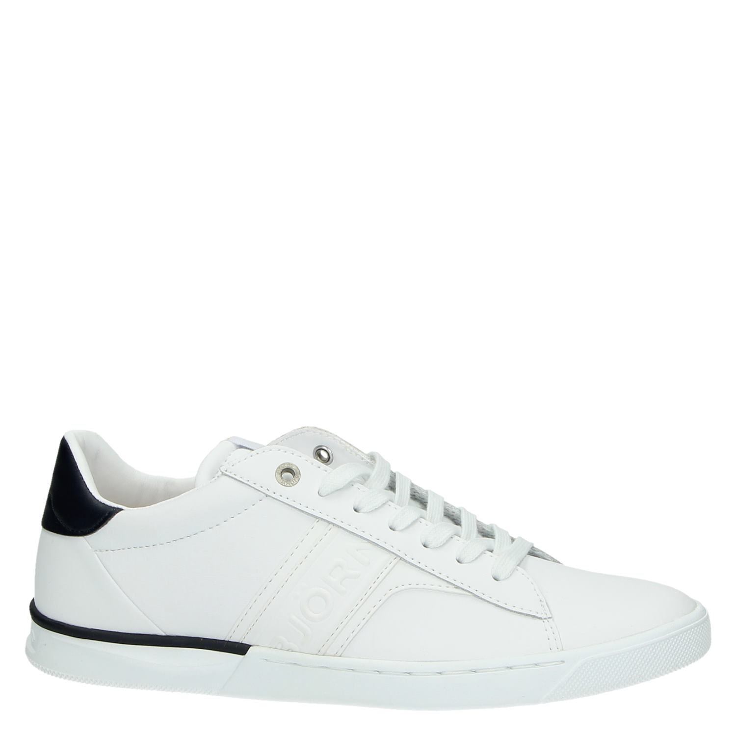 Witte Gympen Bjorn Borg Heren Lage Sneakers Wit