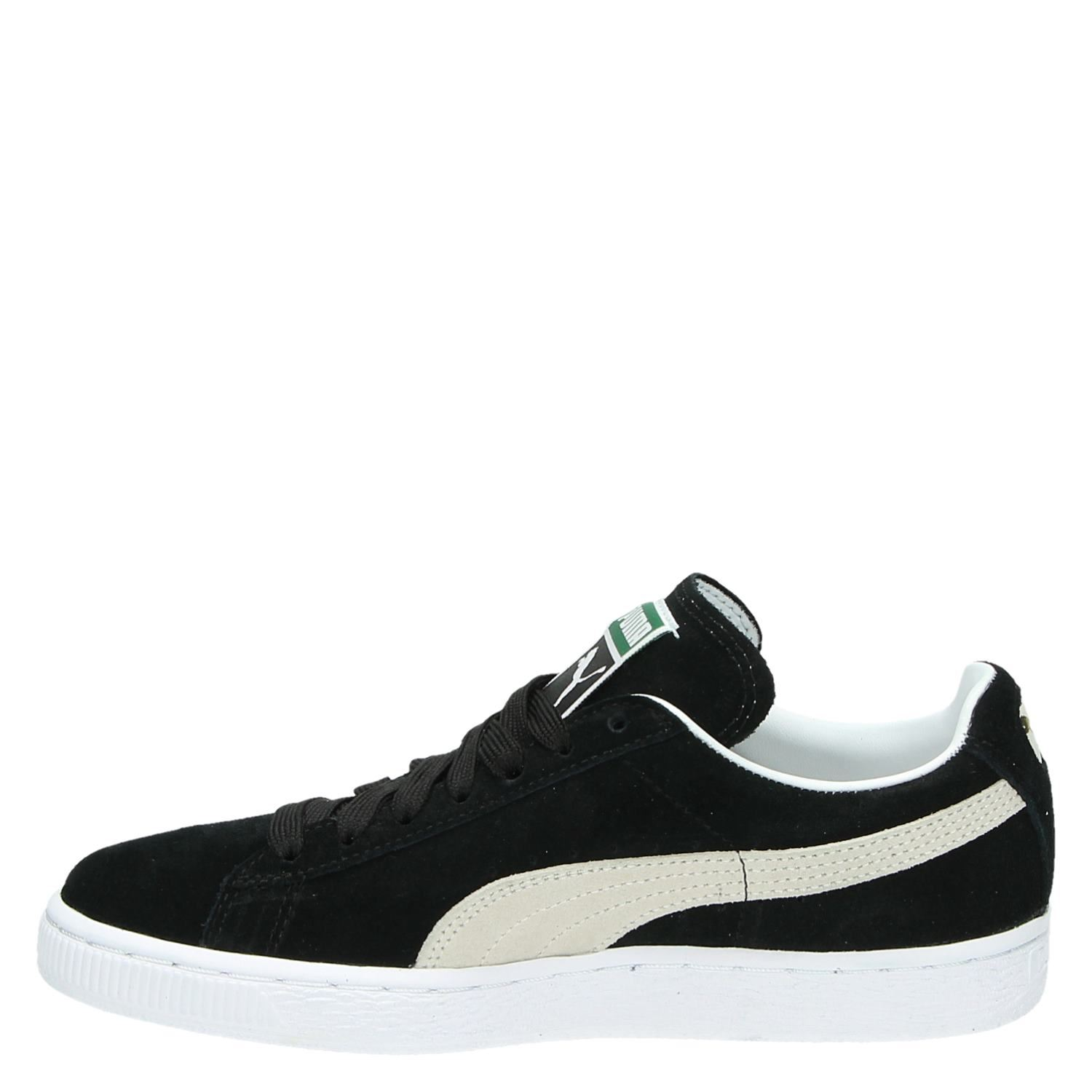 Sneakers Heren Puma Dames Lage Sneakers Zwart