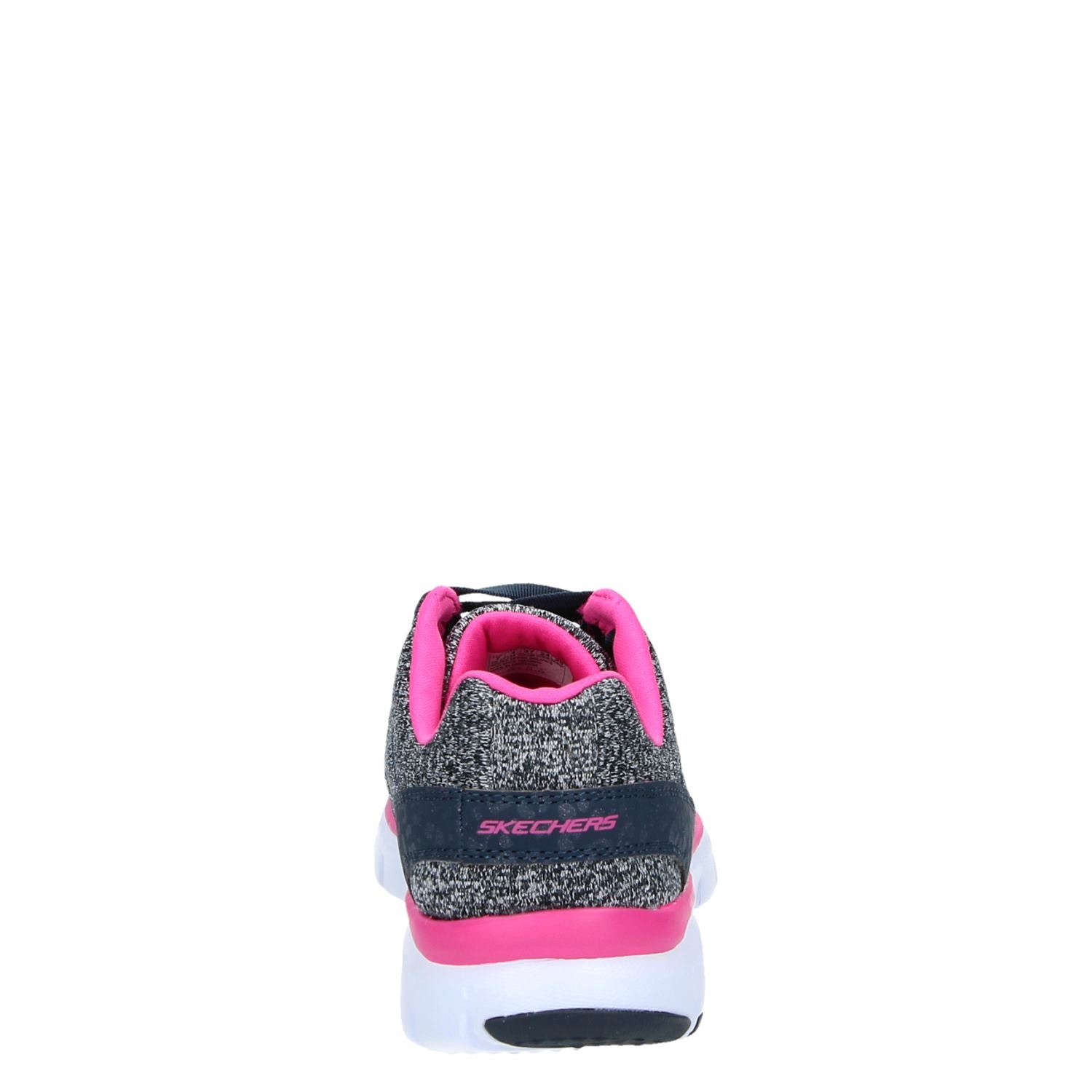 Skechers Dames Skechers Relaxed Fit Dames Lage Sneakers Blauw